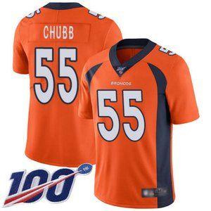 Broncos Bradley Chubb 100th Season Jersey 3